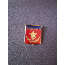 Distintivo Dourado Escola De Aperfeiçoamento De Oficiais