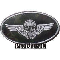 Distintivo Insignea Breve Emborrachado Paraquedista