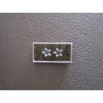 Distintivo Emborrachado De Gola Primeiro Tenente - Eb