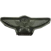Breve Insignea Distintivo Emborrachado Policia Da Aeronautic