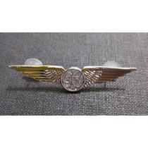 Distintivo De Metal Prateado De Engenheiro Da Fab