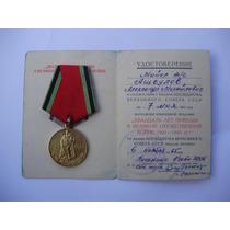 Medalha Soviética, 20 Anos Da Vitória Na Segunda Guerra. Doc