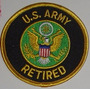 Patche Exercito Americano Usarmy Retired