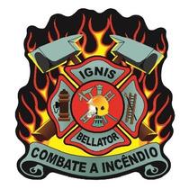 Brevê De Combate A Incêndio Modelo Novo Cbmsc