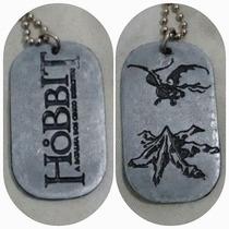 Dog Tag Placa Identificação O Hobbit - Lacrada