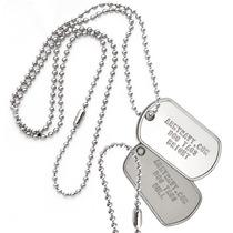 Dog Tag , Placa De Identificação Militar , Us. Army
