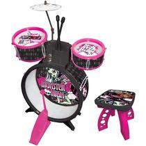 Bateria Infantil Monster High Original,12x Sem Juros