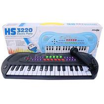 Piano Teclado Musical Infantil - Com Microfone - Promoção