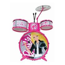 Bateria Infantil Barbie 72931 - Fun Toys
