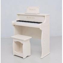 Piano Eletrônico Infantil Renopia Piano December Branco