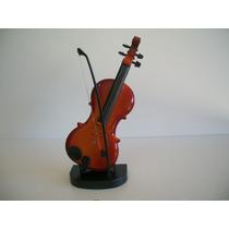 Mini Instrumentos Musicais Violino E Guitarra