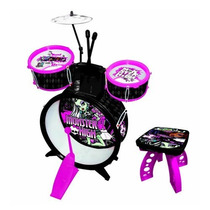 Bateria Infantil Monster High 74331 - Fun Toys
