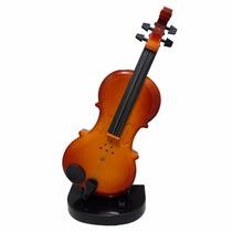 Violino De Brinquedo Com Base