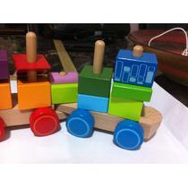 Brinquedo Educativo. Trem Interativo!