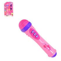 Microfone Infantil Com Óculos Meninas