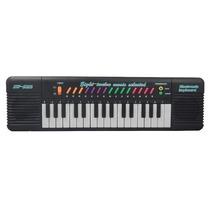 Piano Teclado Musical Infantil Sons Eletronico 32 Teclas
