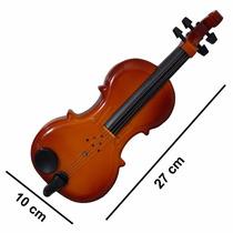 Mini Violino De Brinquedo Perfeitviolino De Bo P/ A Garotada
