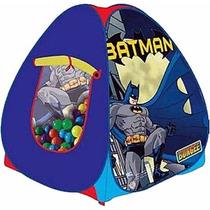 Toca Batman Com 100 Bolinhas Bungee Nova