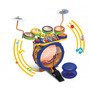 Bateria Eletronica Com Teclado Infantil Kids Band Mundi Toys