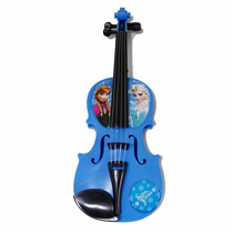 Violino Com 8 Músicas De Brinquedo Frozen