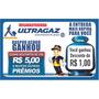 1 Mil Raspadinhas Ultragaz 6x4cm - Promoção