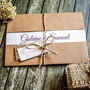 120 Convites De Casamento Rústico Personalizado Frete Grátis