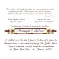 Convite De Casamento, Vergê Linho 120 Gr