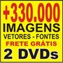 2 Dvds +330.000 - Placas Tuning Carro Vetores Plotter Disney