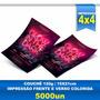 Panfleto - 15x21cm - Papel Tradicional - Couchê 120 - 5000un