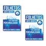 10.000 - Folheto - Panfleto - 14x20cm - 90gr - Frente Verso