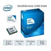 Intel Processador Dual Core Ei-3300 2.5ghz 800mhz Cooler Box