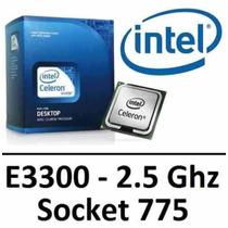 Processador Intel Dual Core E3300 2.5ghz 775