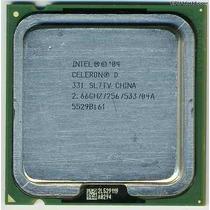 Lote 10 ´processadores Intel 775 Celeron E Um Pentium 4 Ht