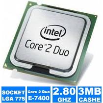 Processador Lga 775 Core 2 Duo E7400 Oem 2.80 Ghz