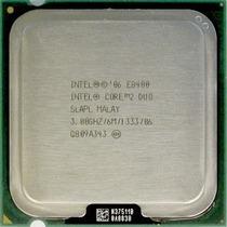 Processador Cpu Intel Core2duo E8400 C/ Garantia + Cooler