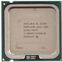 Processador Intel Dual Core E2200 2.2ghz/1m/800mhz Lga 775