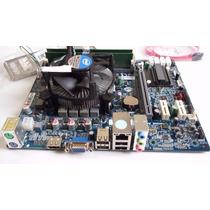 Kit Intel I3 3.1ghz + Placa Mãe H61 Ecs O&m + 4gb Ddr3