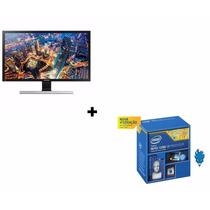 Processador Intel I7 4790k 4.0ghz + Monitor Samsung 4k U28e5