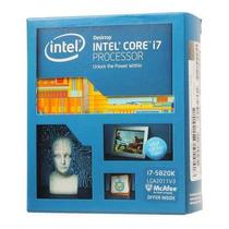 Processador 2011 Core I7 5820k 15mb 3.3ghz Intel Box, 1458