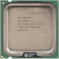 Lote De 3 Pentium 531 Ou 631 Ht 3.0ghz 1mb Cache Fsb 800mhz!