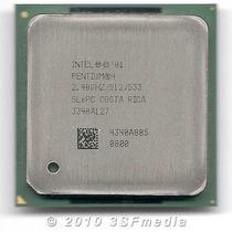 Processador Intel Pentium 4/2.4ghz/512/533 - Socket 478