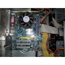 Kit Placa Gigabyte Onboard + P4 2.66ghz + 512mb+ Hd 40gb