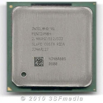 Processador Intel Pentium 4 Ht 2,4ghz 1m 533 Socket 478