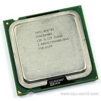 Pentium 630 Ou 631ht 3.0ghz Fsb800mhz Com 2mb Cache 64 Bits!
