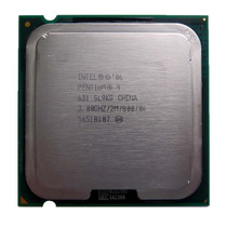 Processador Desktop Intel Socket 775 Pentium 4 3.0ghz Sl9kg