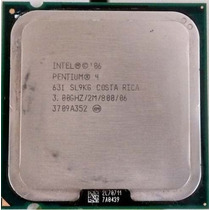 Processador Pentium 4 Ht - Mod 631 / Slot 775 3.0/2m/800