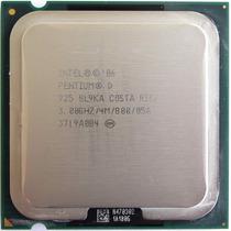 Pentium D925 3ghz Skt 775 Fsb 800 Mhz Cache 4mb! Sem Cooler!