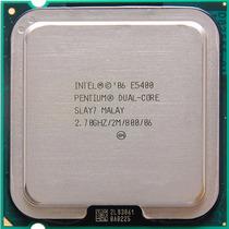 Processador Intel Dual Core E5400 2.7ghz 2mb Lga775 + Cooler