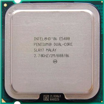 Processador Intel Dual-core E5400 2.7ghz 2mb Lga775 + Cooler