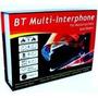 Intercomunicador Bluetooth Sem Fio Para Motos (par)